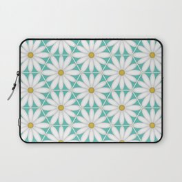 Daisy Hex - Turquoise Laptop Sleeve
