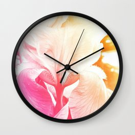 Pastel Flower 3 Wall Clock