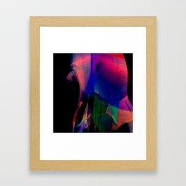 Body Portrait #3 Framed Art Print