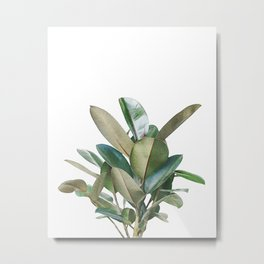 Green Bush Metal Print