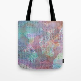 Words and Water Paint 2 Tote Bag