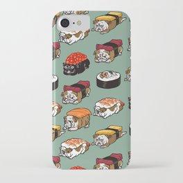 Sushi English Bulldog iPhone Case