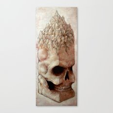 Skull Mountain Canvas Print