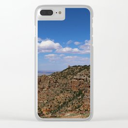 Grand Canyon View From Navajo Point Clear iPhone Case