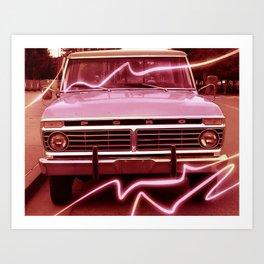 Pickup Art Print