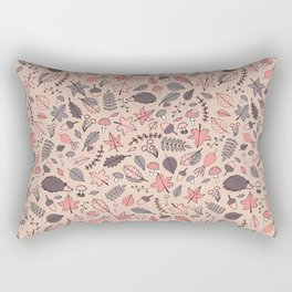 Autumn Pattern Rectangular Pillow