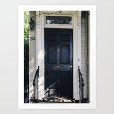Charleston Doorstep IV Art Print