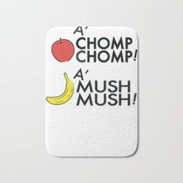 A'CHOMP CHOMP! Bath Mat