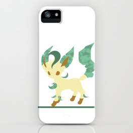 Leafeon; Forest  iPhone Case