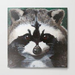 Raccoon - Charley - by LiliFlore Metal Print