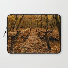 Autumn Colors Forest Laptop Sleeve