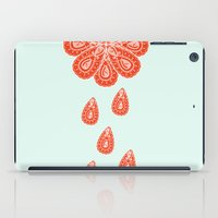 henna iPad Cases featuring Henna Shower by Neela
