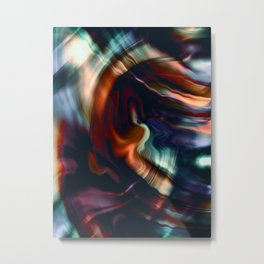 Thrill Metal Print