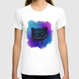 Cheshire Cat Watercolor T-shirt