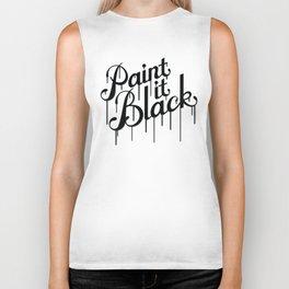 Paint it Black Biker Tank