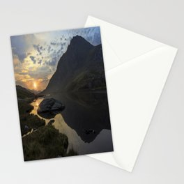 Tryfan Sunrise Stationery Cards