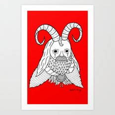 Chinese New Year of the Goatman Art Print
