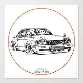 Crazy Car Art 0208 Canvas Print