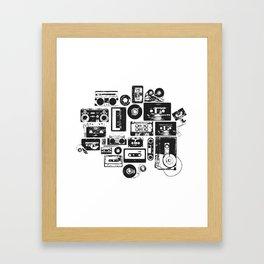 Mix Me Up Framed Art Print