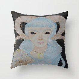 Psilocybe Throw Pillow