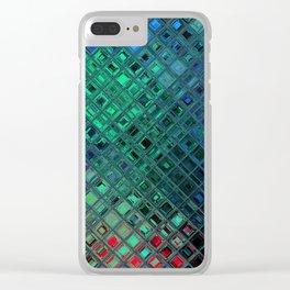 gem tile scape vol.2 Clear iPhone Case