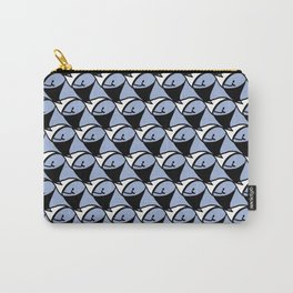 Whale pattern Carry-All Pouch