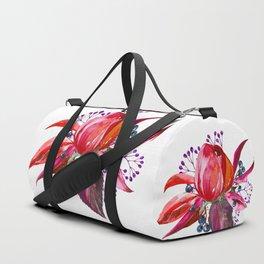 Bouquet, Rose, Bud, Berry, Leaf, Shabby, Cottage, Chick, Design, Original, Unique Duffle Bag