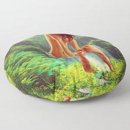 Quiverish Waterfall Fairy 2 Floor Pillow