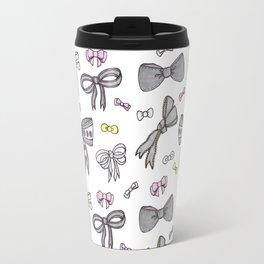 Bows and Ribbons Travel Mug
