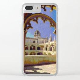 Mosteiro dos Jeronimos, Belem Clear iPhone Case