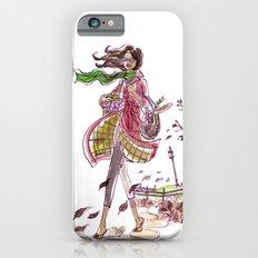 Blowing Leaves Slim Case iPhone 6s