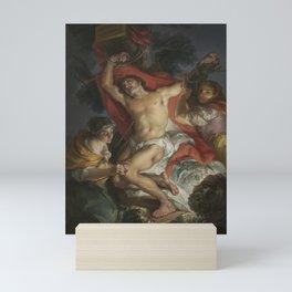Vicente López y Portaña - Saint Sebastian Tended by Saint Irene Mini Art Print