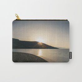Sunrise over mountain Carry-All Pouch