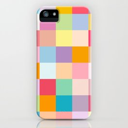 Candy colors iPhone Case