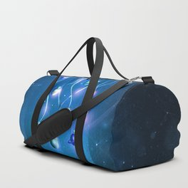 Christmas Jellyfish Duffle Bag