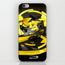 3d graffiti - 'Voltage iPhone Skin