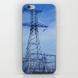 power plant iPhone Skin