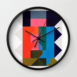 color story - niche Wall Clock