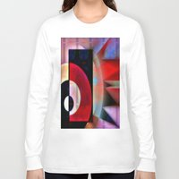 asian Long Sleeve T-shirts featuring Asian Lights by Kristine Rae Hanning