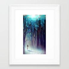 AquaForest Framed Art Print