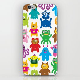 Monsters and Aliens iPhone Skin