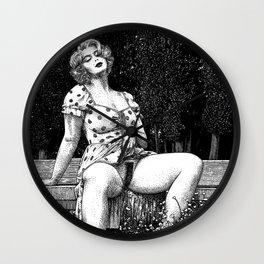 asc 1000 - Le pré interdit (Et in Arcadia ego) Wall Clock