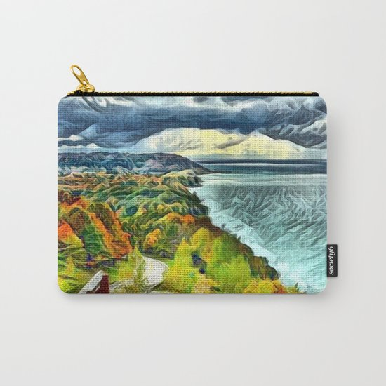 Stairs to Paradise (Water and Landscape) Carry-All Pouch