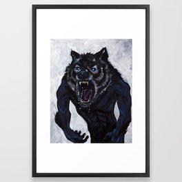 """""""Lycaon"""" Framed Art Print"""