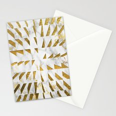 Marble and Gold Pattern #4 Stationery Cards