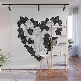 Gardenias Wall Mural
