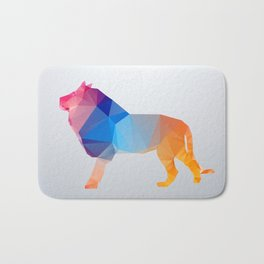 Glass Animal Series - Lion Bath Mat