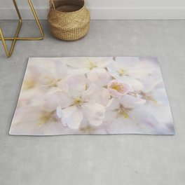 Ornamental Cherry Blossom Rug