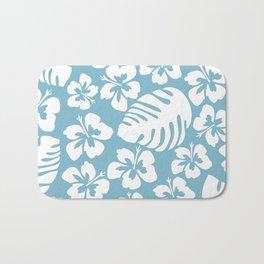 Powder Blue Tropical Breeze Bath Mat