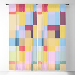 Taimatsumaru - Colorful Decorative Abstract Art Pattern Blackout Curtain